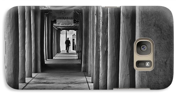 Galaxy Case featuring the photograph Santa Fe New Mexico Walkway by Ron White