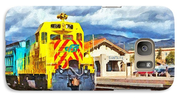 Santa Fe Southern Railway Train Galaxy S7 Case