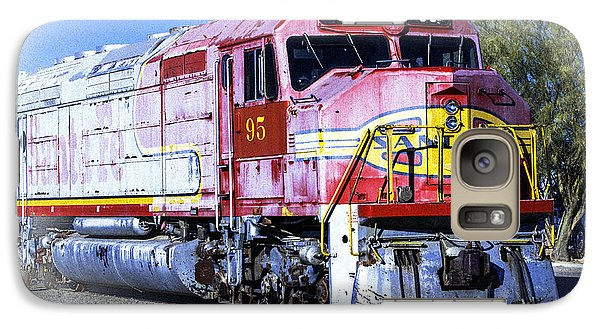 Galaxy Case featuring the photograph Santa Fe Train No-95 by William Havle