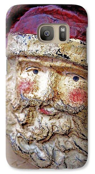 Galaxy Case featuring the photograph Santa by Lynn Sprowl