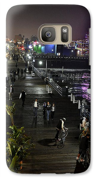 Galaxy Case featuring the photograph Santa Monica by Gandz Photography