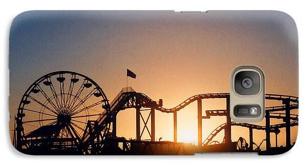 Santa Monica Pier Galaxy S7 Case