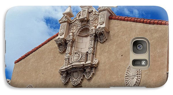 Galaxy Case featuring the photograph Sante Fe Theatre by Sylvia Thornton