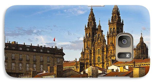 Galaxy Case featuring the photograph Santiago De Compostela Cathedral Galicia Spain by Pablo Avanzini