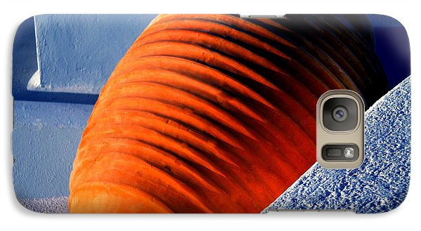 Galaxy Case featuring the photograph Santorini  Ceramics Pot Greece by Colette V Hera  Guggenheim