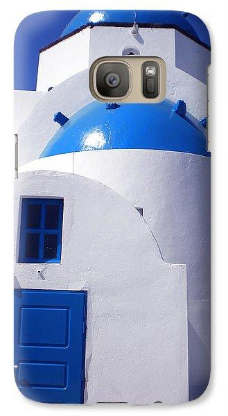 Galaxy Case featuring the photograph Santorini Church  by Colette V Hera  Guggenheim
