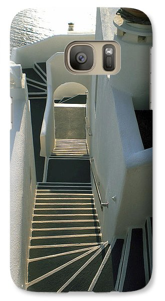 Galaxy Case featuring the photograph Santorini Stairs by Colette V Hera  Guggenheim