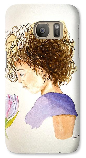 Galaxy Case featuring the painting Sarah by June Holwell