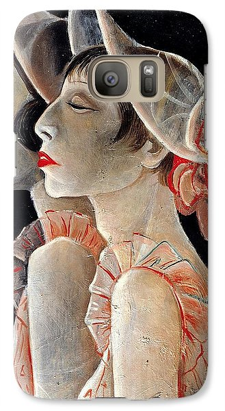 Galaxy Case featuring the painting Sassy by Allen Beilschmidt