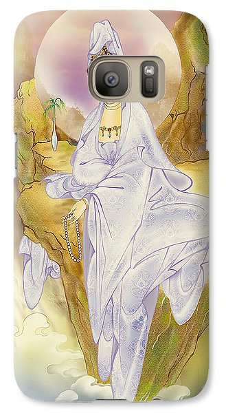 Galaxy Case featuring the photograph Sault-witnessing Kuan Yin by Lanjee Chee