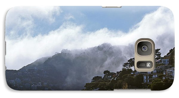 Galaxy Case featuring the photograph Sausalito- California by Haleh Mahbod
