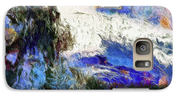 Galaxy Case featuring the painting Sausalito by Dominic Piperata