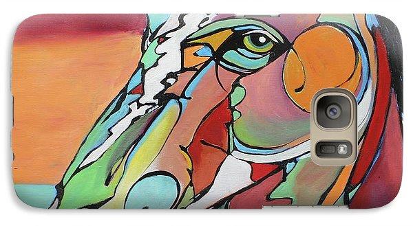 Galaxy Case featuring the painting Savannah  by Nicole Gaitan