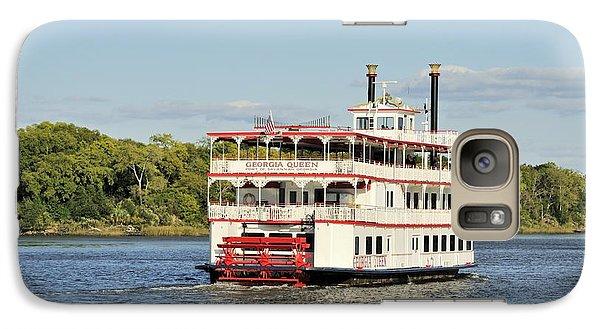 Savannah River Steamboat Galaxy S7 Case