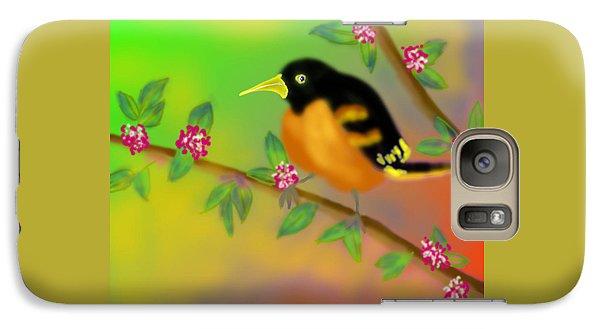 Galaxy Case featuring the digital art Save My Beautiful World by Latha Gokuldas Panicker