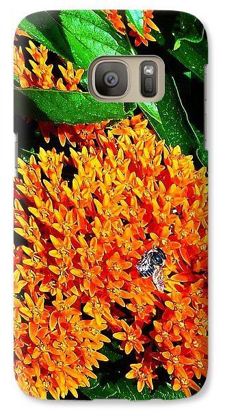Galaxy Case featuring the photograph Save Our Bees by Yolanda Raker