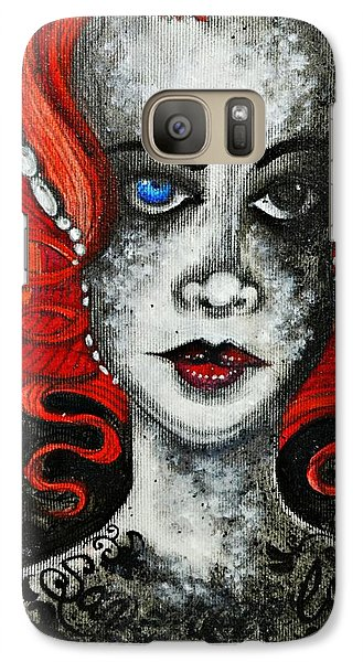 Galaxy Case featuring the painting Save Your Love by Sandro Ramani