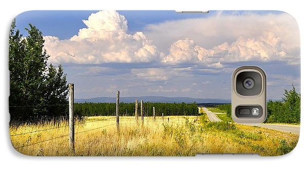 Galaxy Case featuring the photograph Sawmill Creek Road by Cathy Mahnke
