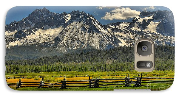 Galaxy Case featuring the photograph Sawtooth Mountains by Sam Rosen