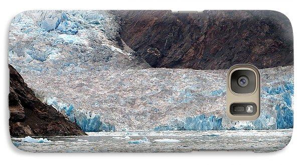 Galaxy Case featuring the photograph Sawyer Glacier by Jennifer Wheatley Wolf