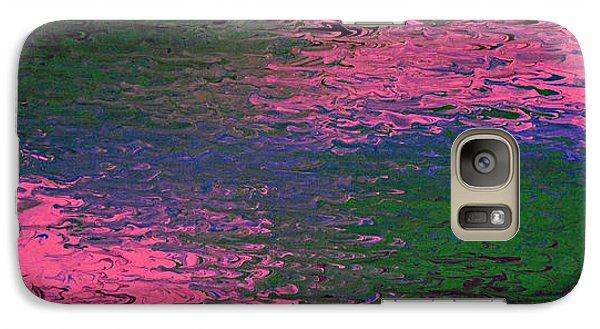 Galaxy Case featuring the painting Say My Name by Cyryn Fyrcyd