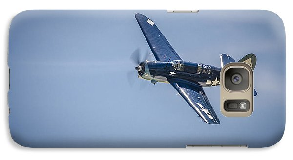 Galaxy Case featuring the photograph Sb2c Helldiver by Bradley Clay