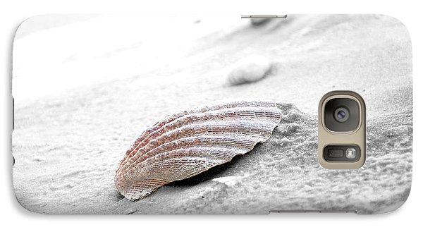 Galaxy Case featuring the photograph Scallop Shell by Robert Meanor