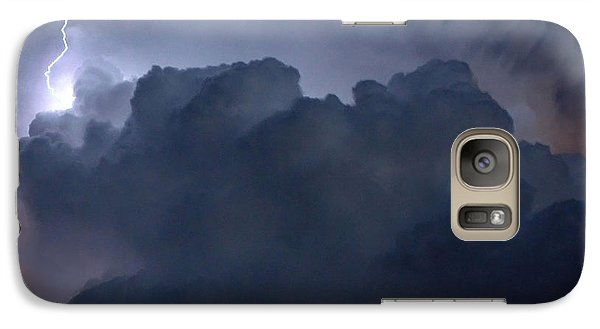 Galaxy Case featuring the photograph Scalloped Edge by Charlotte Schafer