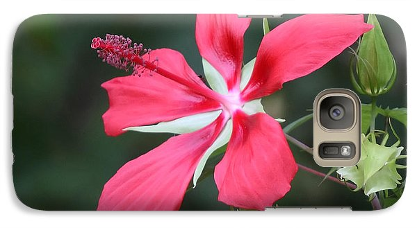 Galaxy Case featuring the photograph Scarlet Hibiscus #3 by Paul Rebmann