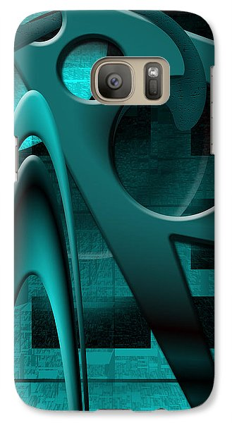 Galaxy Case featuring the photograph Scarpoli's Vengeance by Steve Sperry