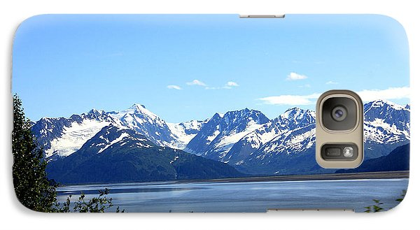 Galaxy Case featuring the photograph Scenic Byway In Alaska by Kathy  White
