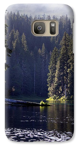 Galaxy Case featuring the photograph Scenic Clear Lake by Erica Hanel