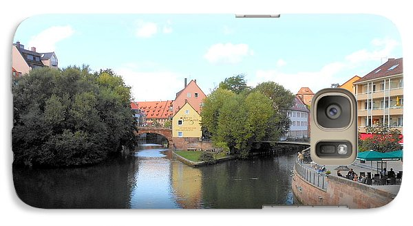 Galaxy Case featuring the photograph Scenic Nuremberg by Kay Gilley