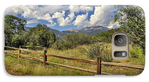Galaxy Case featuring the photograph Scenic View by Cheryl Davis