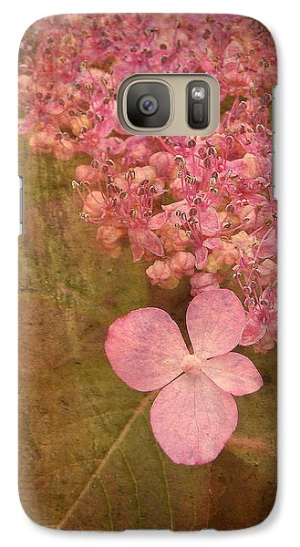 Galaxy Case featuring the photograph Scent Of Hydrangea by Kathi Mirto