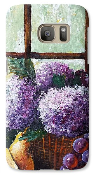 Galaxy Case featuring the painting Scent Of Memories by Vesna Martinjak