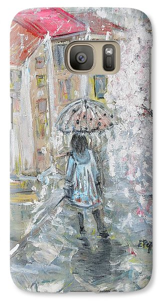 Galaxy Case featuring the painting Scent Of Spring by Evelina Popilian
