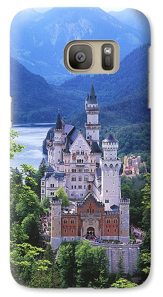Schloss Neuschwanstein Galaxy Case by Timm Chapman