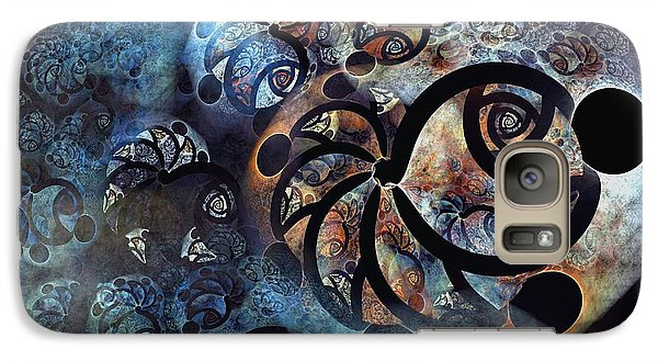 Galaxy Case featuring the digital art School by Kim Redd