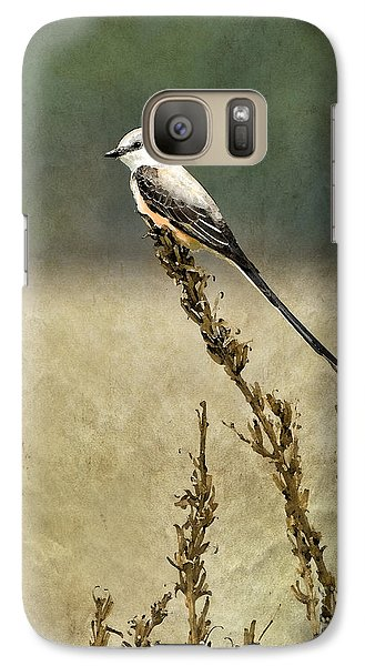 Scissortailed-flycatcher Galaxy S7 Case by Betty LaRue