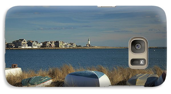Galaxy Case featuring the photograph Scituate Harbor Boats by Amazing Jules