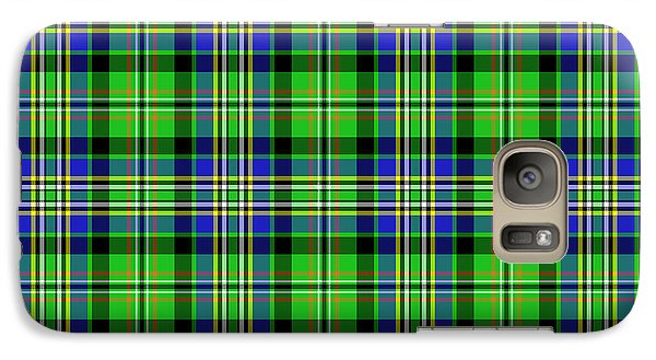 Galaxy Case featuring the mixed media Scott Tartan Variant by Gregory Scott