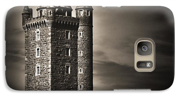 Galaxy Case featuring the photograph Scrabo Tower Newtownards County Down by Jane McIlroy