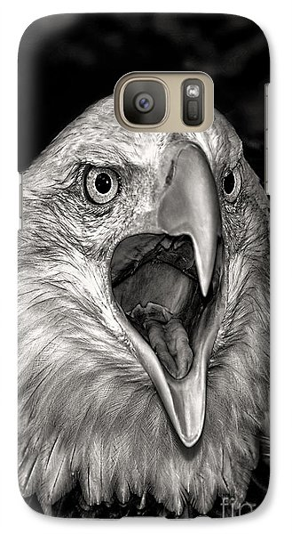 Galaxy Case featuring the photograph Screamin Eagle by Adam Olsen