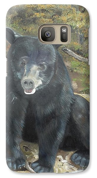 Galaxy Case featuring the painting Scruffy Again by Jan Dappen