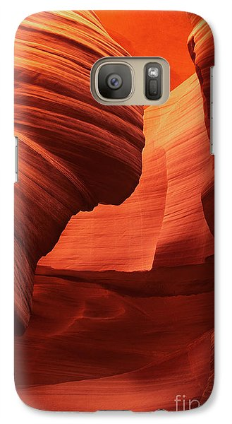 Galaxy Case featuring the photograph Sculpted Sandstone Upper Antelope Slot Canyon Arizona by Dave Welling