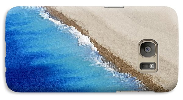 Galaxy Case featuring the photograph Sea And Sand by Wendy Wilton