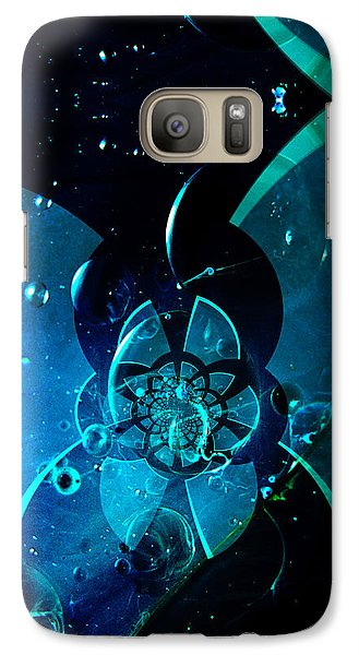 Galaxy Case featuring the painting Sea City Iphone Case by Robert Kernodle