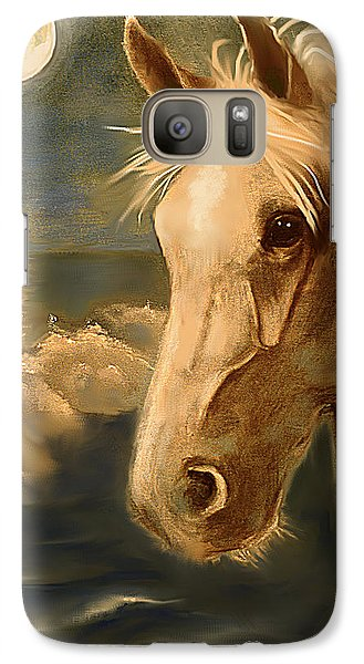 Galaxy Case featuring the painting Sea Dream by Terry Webb Harshman