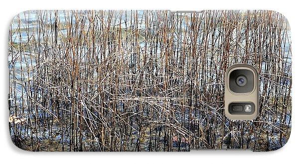Galaxy Case featuring the photograph Sea Grass by Judy Palkimas